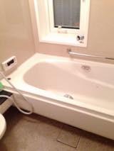 浴室クリーニング!カビや黒ずみ、湯垢も一網打尽!!