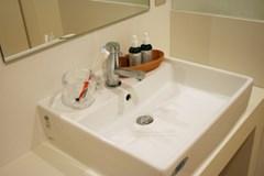 浴室がきれいになるついでに、洗面所もいかがですか?