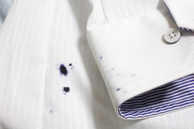 【油性ペンの落とし方】服に付いた時の落とし方