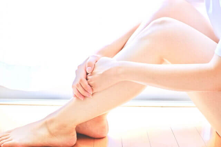 憧れの美脚を作る脚のリンパマッサージ