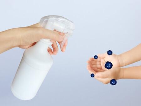 【逆性石鹸の使い方】逆性石鹸を使って手指の消毒しよう!