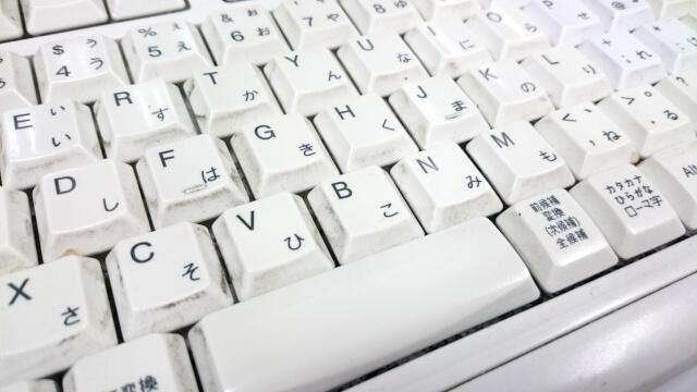 キーボードの掃除は水洗い不要!衝撃のキーボードを掃除する方法を紹介