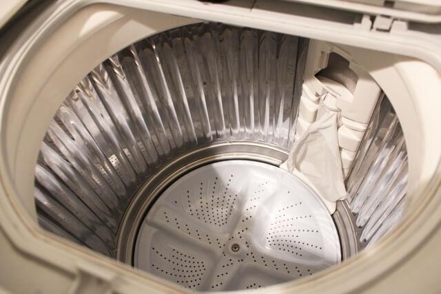 塩素系漂白剤を使ったお掃除【洗濯機】