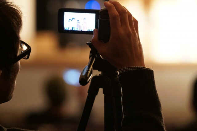 上手にビデオ撮影したい方必見!ビデオ撮影のポイントやテクニックをご紹介