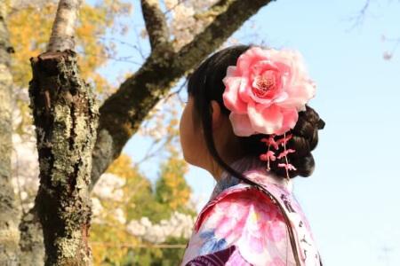 袴に似合う髪型【ロングヘア編】