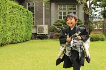 七五三の着付け:5歳の男の子の着付け方