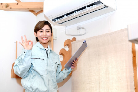 【エアコン室外機】エアコンの効きをよくするため直射日光を遮る!