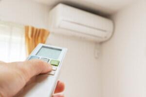 リモコンの温度設定が正しいか確認する