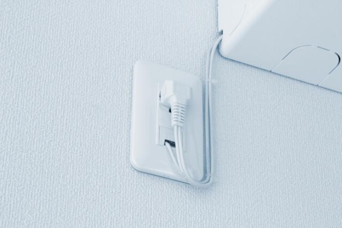 【エアコンのコンセント】電圧や電流に適したエアコンのコンセンが必要