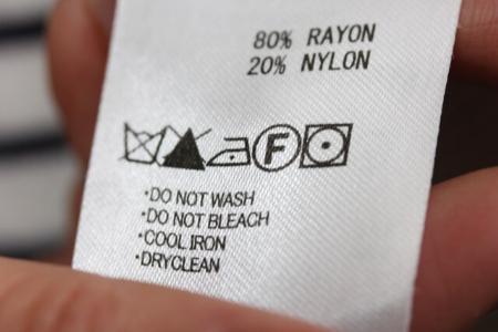 新しい洗濯表示の「禁止」「強さ」「温度」