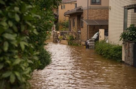 浸水被害の床上・床下浸水の違いを知ろう