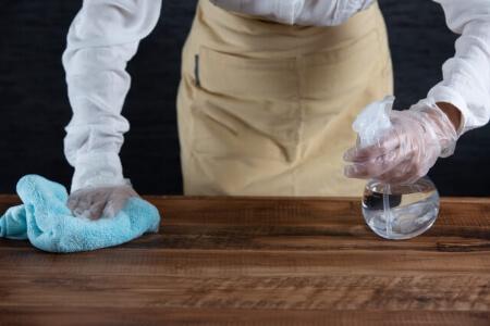 次亜塩素酸水は空間噴射や加湿器に使用しない