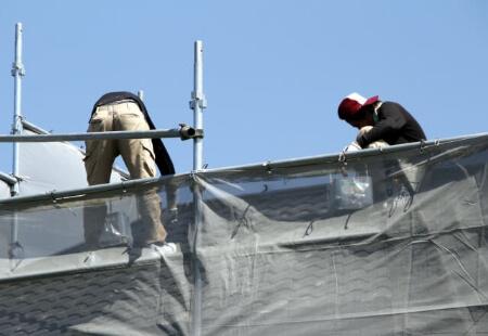 屋根塗装の手順(板金屋根の場合)