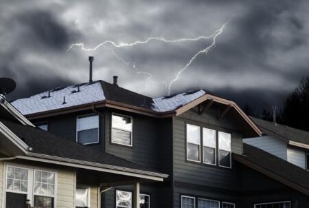 火災保険が適用されない台風損害