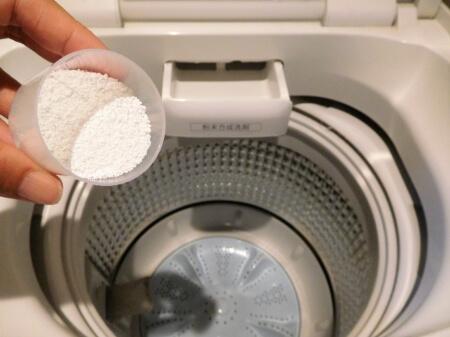 【洗濯機が臭い】洗濯機がカビ臭い時は洗濯槽クリーナーで掃除