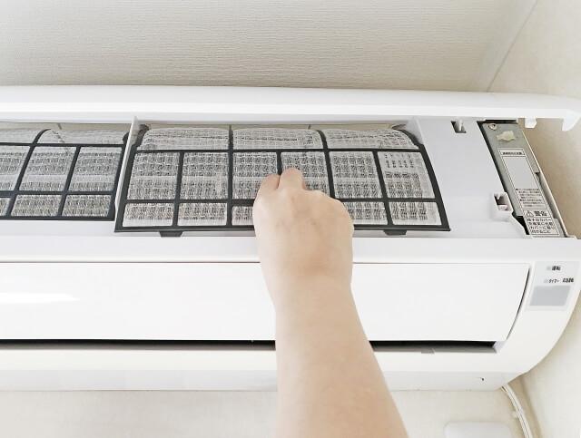 【エアコンフィルター掃除】効きが悪いのはエアコンフィルターを掃除しよう!