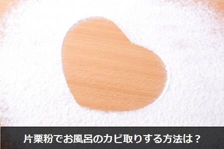 【風呂のカビ】重曹とクエン酸でお風呂のカビを取る方法