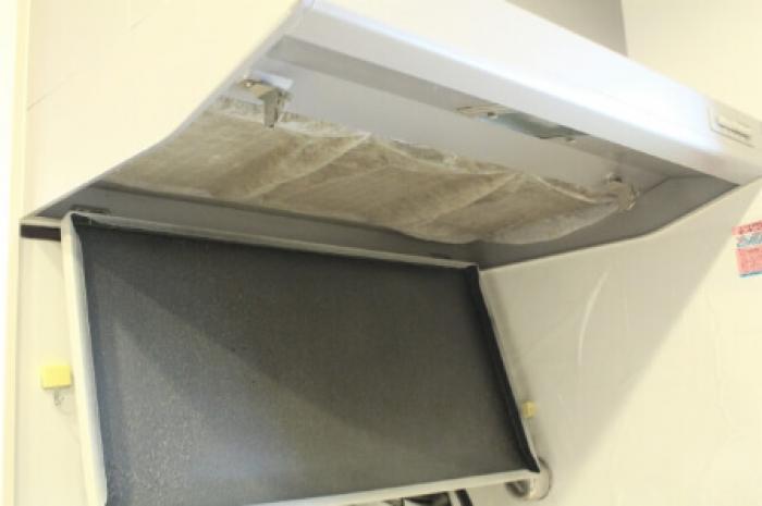 面白いほど換気扇のフィルター汚れが取れる!換気扇のフィルターは重曹で!