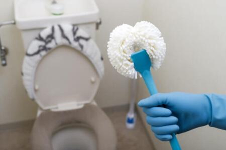 【トイレの黒ずみ】重曹とクエン酸で頑固な黒ずみ汚れを掃除