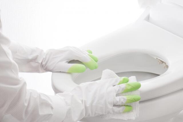 トイレの便器や、便座をクエン酸で掃除する方法