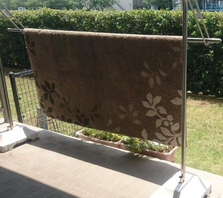 洗濯したカーペットを上手に干す方法を知ろう!