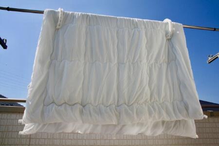 シーツはこまめに洗濯しよう!
