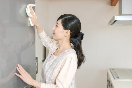 日頃から冷蔵庫の状態を確認しておく