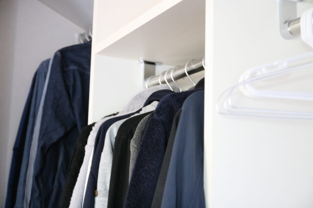 【服の収納方法】服をキレイに見せたい人の収納ポイント