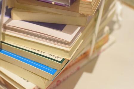 簡単にできる本を片付ける方法