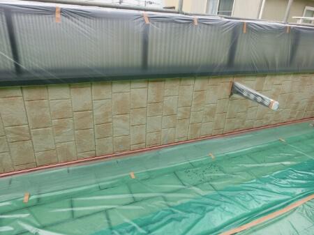 FRP防水工事は5~6年ごとに表面塗装が必要で
