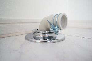 洗濯機と排水口を繋ぐ部品「排水エルボ」