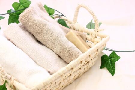 洗面所の収納:タオル・ドライヤー・歯ブラシ