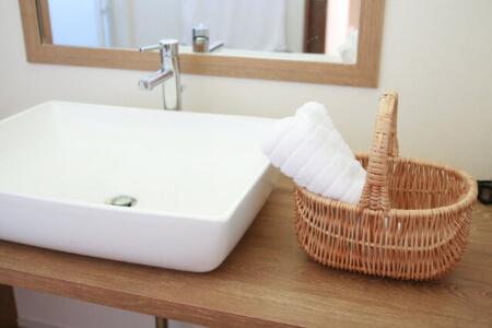 洗面所の収納をスッキリさせたら掃除も手軽にできる