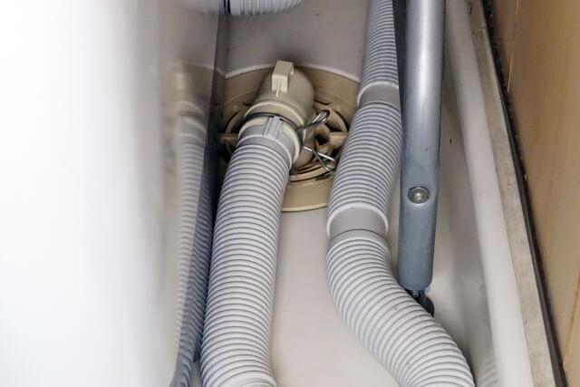 洗濯機本体からの水漏れの場合