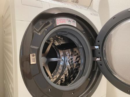 食器用洗剤でドラム式洗濯機のゴムパッキンを掃除する方法