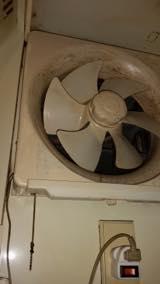 Jメンテナンスの換気扇クリーニング/プロペラ