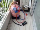 エアコン修理 ガスチャージ 水漏れお任せください。