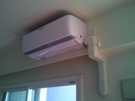 家庭用エアコン、取り付け取外し工事ならお任せ下さい!日程が合えば翌日工事可能!