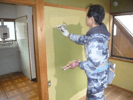壁・左官工事 /の塗替え工事致します!