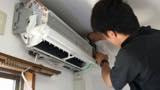 【エアコン洗浄】分解洗浄でエアコンをすみずみまでキレイにお掃除いたします!