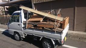 一般廃棄物収集運搬許可業者との委託提携会社だから安心の軽トラック積み放題