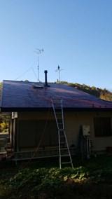 スレート屋根の塗装※県外交通費要