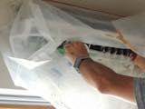 【家庭用壁掛け】高圧洗浄でエアコンをキレイに致します!!