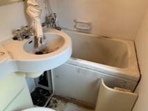 浴室クリーニング!
