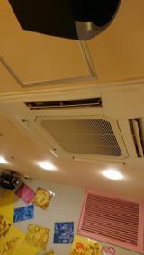 【札幌市全域対応!】丁寧かつスムーズな作業でしっかりお掃除!【天井エアコン清掃】